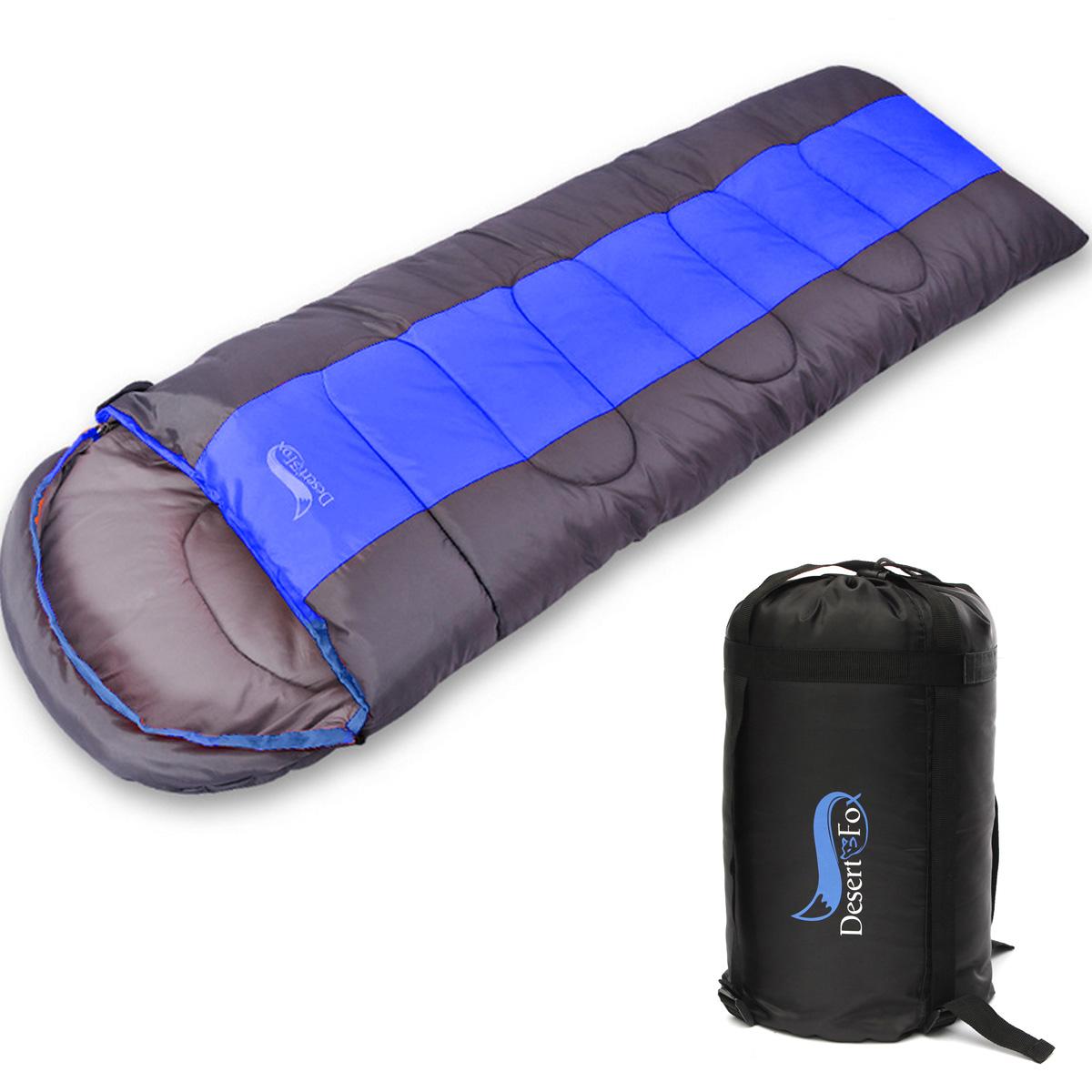 4SEASON SLEEPING BAG WATERPROOF SINGLE SUIT CASE CAMPING HIKING OUTDOOR ENVELOPE
