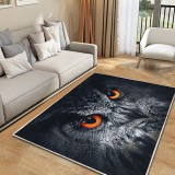 Cute Tiger/Cat/Owl 3D Print Modern Rug Carpet Non-slip Soft Anti-skid Carpet Floor Area Mat Shaggy Rug Living Room Bedroom Rugs