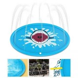 170cm Kids Inflatable Splash Water Pad Children Play Mat Outdoor Play Wading Toy Swimming Air Mattress
