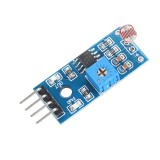 3pcs 4pin Optical Sensitive Resistance Light Detection Photosensitive Sensor Module Geekcreit for Arduino – products that work with official Arduino boards