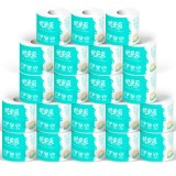 10 Rolls Ultra ComfortCare Soft Toilet Paper Toilet Paper Household Towel Tissue Replacement Roll Paper Toilet Paper Table Kitchen Paper Box