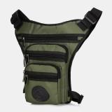 Men Fashion Camping Bag Waist Bag Multifunctional Tactical Crossbody Bag Leg Bag Outdoor Travel Bag