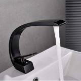 European Style Bathroom Sink Faucet Slotted Kitchen Sink Faucet Hot and Cold Full Copper Creative Tap
