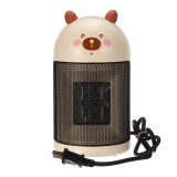220V 500W Desktop Mini Air Heater Fan Silent Electric Winter Warmer Energy-Saving Household Office