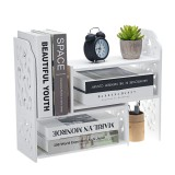 DIY Desk Bookshelf Bookcase Organizer Rack Office Unit Storage Box Shelf Stand