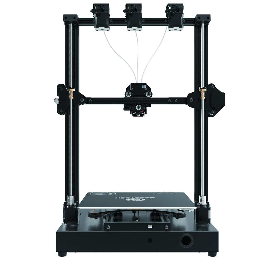 Geeetech A30T Tri-color Mixed 3D Printer Kit with 320x320x420mm Printing Size/Tri-Extruder/Break Resume Support AutoLeveling & Wifi Connection