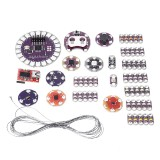 LilyPad Kit Wearable Electronic LED and Sensor Kit Temperature Sensor with Cable LilyPad for Arduino – products that work with official Arduino boards