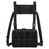 ZANLURE Oxford Tactical Bag Vest Chest Bag Camping Hiking Hunting Vest Backpack