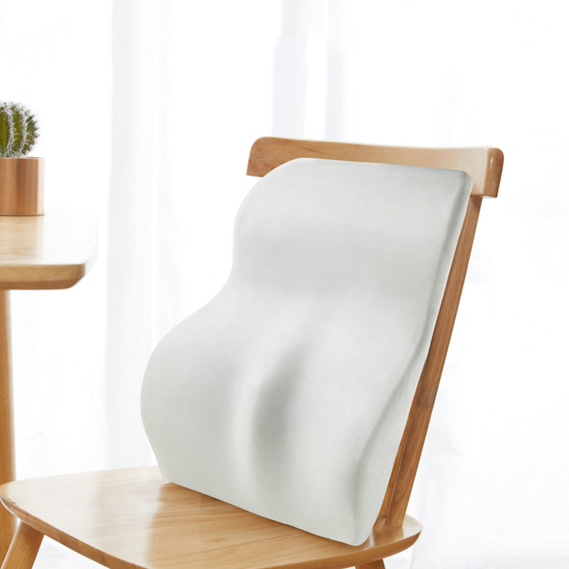 Xiaomi 8H Memory Foam Lumbar Cushion Car Office Travel Lumbar Support Waist Cushion Pillows