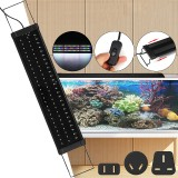 For 65-70CM RGB 78LED Aquarium Fish Tank Light Aquarium Light Extendable Brackets US/AU/UK