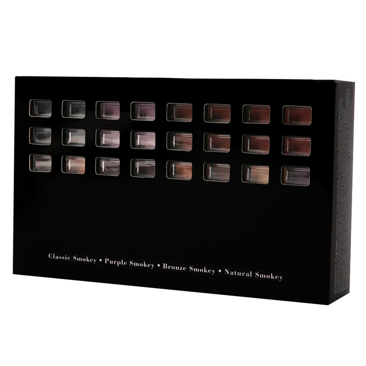 74 Color Eye Shadow Set Lip Gloss Blush Foundation Cream Glitter Eye Shadow Palette Makeup Set