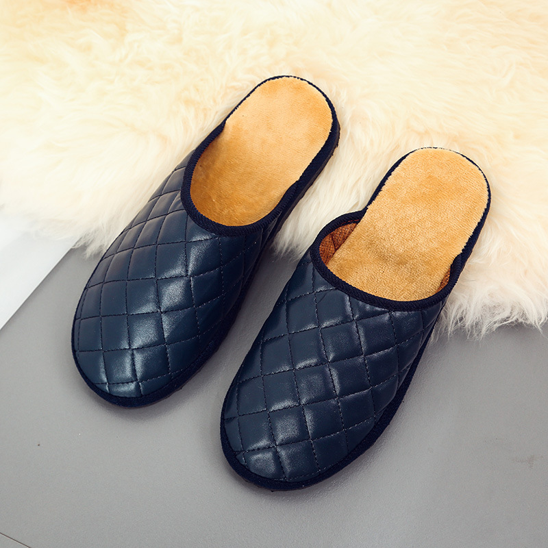 Winter Men's Comfy Warm Mules Home Indoor Casual Slip On Slippers