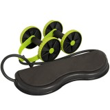 Home Exercise Equipment Rollers Four Wheels Exercise Equipment Core Pull Rope Abdominal AB Trainer Exercise Tools