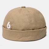 Landlord Cap Dome Cap Sailor Cap Street Trends Melon Brimless Hats Skull Caps