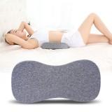 Waist Support Lumbar Cushion Pillow Home Fitness Relaxing Memory Foam Lumbar Disc Herniation Pad