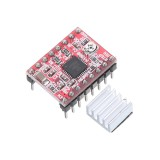 3pcs A4988 Driver Module Stepper Motor Driver Board with Heatsink