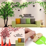 Beautiful 3D Tree DIY Mirror Wall Decals Stickers Art Home Room Vinyl Decor Wall Sticker