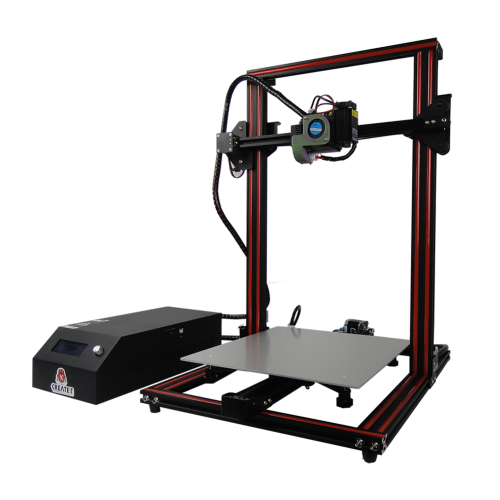 KREATEIT KR-10S ThorPro 3D Printer DIY Upgraded Kit 300x300x400mm Large Printing Size With Laser Components/One Nozzle Double Lead Screw/US Plu