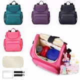Baby Children Changing Diaper Nappy Mummy Backpack Handbag Outdoor Travel Bag