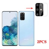 Bakeey 2PCS Anti-scratch HD Clear Tempered Glass Phone Camera Lens Protector for Samsung Galaxy S20+ / S20 Plus 2020