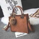 Women Leather Handbag Lady Shoulder Bag Tote Crossbody Messenger Bag
