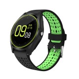 Bakeey V9 HD Screen Wristband SIM Card Camera bluetooth Music Information Push Smart Watch