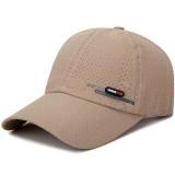 Summer Men and Women Breathable Mesh Hat Adjustable Quick Dry Cap Visor Baseball Sports Cap