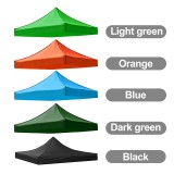 IPRee 3X3M 420D Sun Shelter Oxford Tent Sunshade Protection Outdoor Canopy Garden Patio Pool Shade Sail Awning Camping Shade Cloth