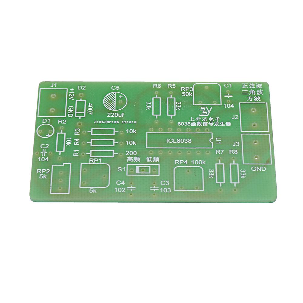 3Pcs 8038 Function Signal Generator DIY Waveform Generator Kit Electronic DIY Production Parts