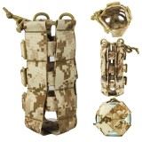 Outdoor Tactical Molle Water Bottle Bag Military Hiking Belt Holder Kettle Pouch Bag