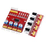 5pcs 4CH Channel Infrared Tracing Module Patrol Four-way Sensor For Car Robot Obstacle Avoidance