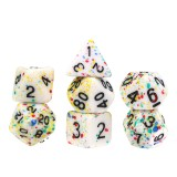 7PCS Polyhedral Dices Set For DND Dungeons & Dragons Dice Desktop RPG Game