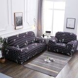 1/2/3/4 Seater Elk Sofa Print Sofa Cover Elastic Sofa Covers for Living Room Couch Cover Pillowcase Chair Covers