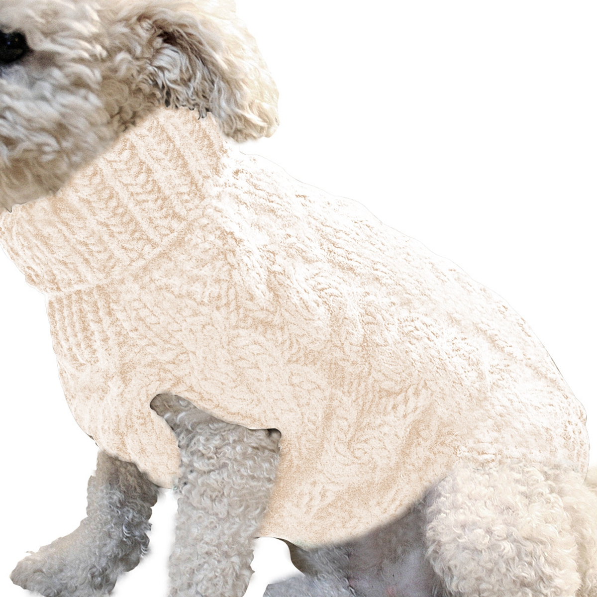 Pet Vest Jacket Pet Knit Sweater Dog Cat Puppy Coat Warm Clothes