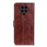 For Xiaomi Redmi K30 Pro Retro Crazy Horse Texture Horizontal Flip Leather Case with Holder & Card Slots & Photo Frame & Wallet (Brown)