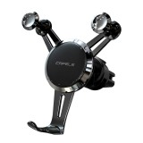 CAFELE Joint Series Universal Aluminum Alloy Rotatable Air Outlet Car Gravity Bracket Mobile Phone Holder Suitable for 4-7 inch Mobile Phone