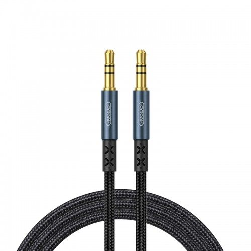 JOYROOM SY-20A1 AUX Audio Cable 3.5mm Male to Male Plug Jack Stereo Audio Wire AUX Car Stereo Audio Cable, Cable Length: 2.0m (Dark Blue)
