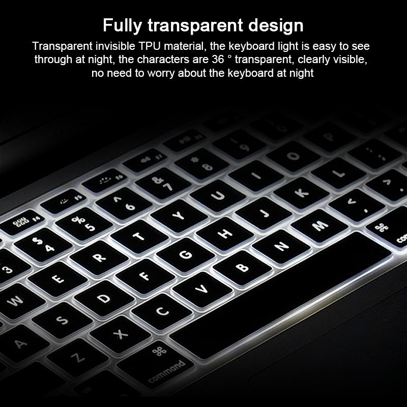 WIWU 苹果电脑TPU 键盘膜 (https://www.wiwu.net.cn/) 电脑 壳 膜 第8张