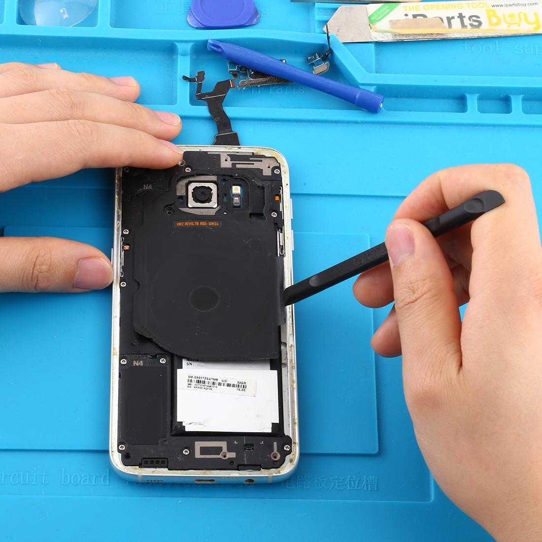 iPartsBuy Mobile Phone Repair Tool P8824 Professional Mobile Phone//Tablet 18.8cm 3 in 1 Metal Disassembly Rods Crowbar Repairing Tool