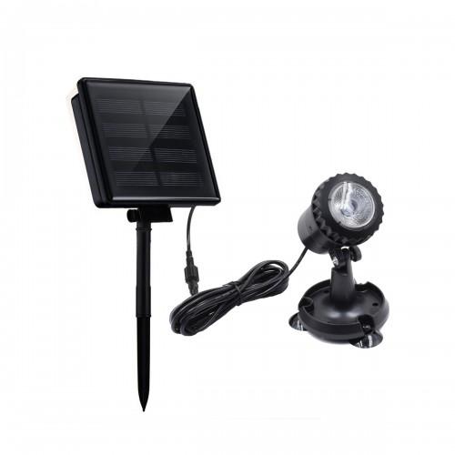 LED Underwater Spot Landscape Solar Lights IP68 Garden Fountain Pond Pool Lamp