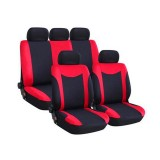 Universal Car Seat Cover Full Set 9Pcs Front & Rear Seat Cushion Protector