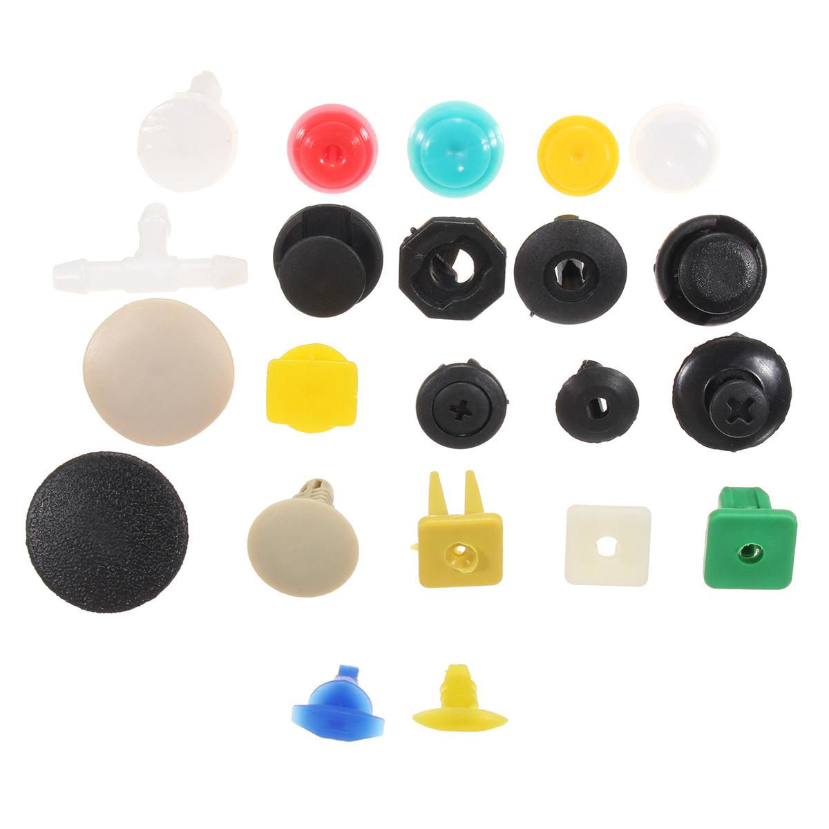 500pc Push Pin Mixed Door Trim Panel Clip + Fastener Bumper Rivet Retainer
