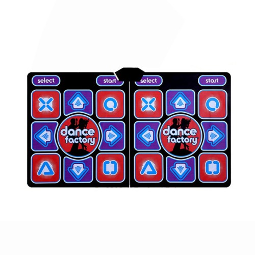 Wireless Dancing Mat Pad Blanket Computer TV Slimming Blanket With Two Handle Button Glow Version