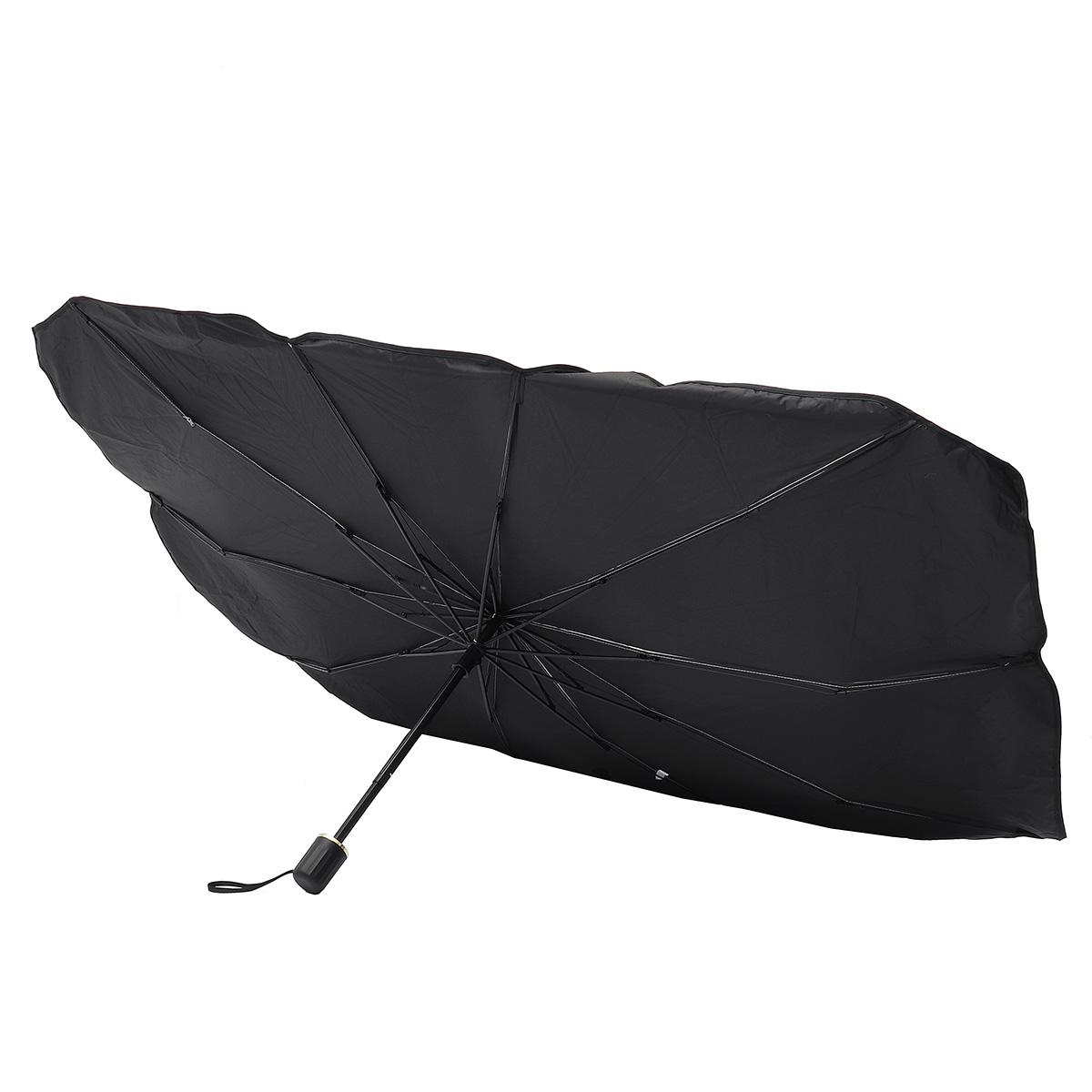 Car Umbrella Shape Sun Shade Parasol Auto Front Window Sunshade Covers Anti UV