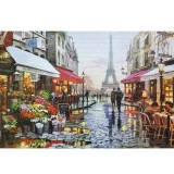 1000 Piece Jigsaw Puzzle Toy DIY Assembly Cardboard Landscapes Decompression Game Puzzle Toy