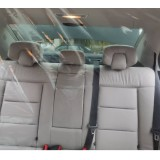 1.4*1.8M Car Isolation Film Fully Enclosed Transparent Isolation Curtain Protective Film Main Driving Seat Diver Isolation