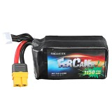 DUPU 22.2V 1150mAh 120C 6S Lipo Battery XT60 Plug for RC Racing Drone