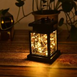 Solar Lantern Light LED Yard Outdoor Patio Garden Landscape Lamp IP65 Waterproof