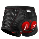 X-TIGER 5D Men's Padded Bike Shorts Quick Dry Breathable Shock Absorption Cycling Shorts