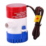 12V/24V Electric Pump 350GPH Marine Bilge Pump Submersible Boat Water Pump